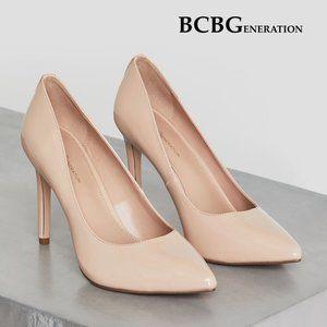 BCBGeneration Heidi Smooth Patent Leather Pump